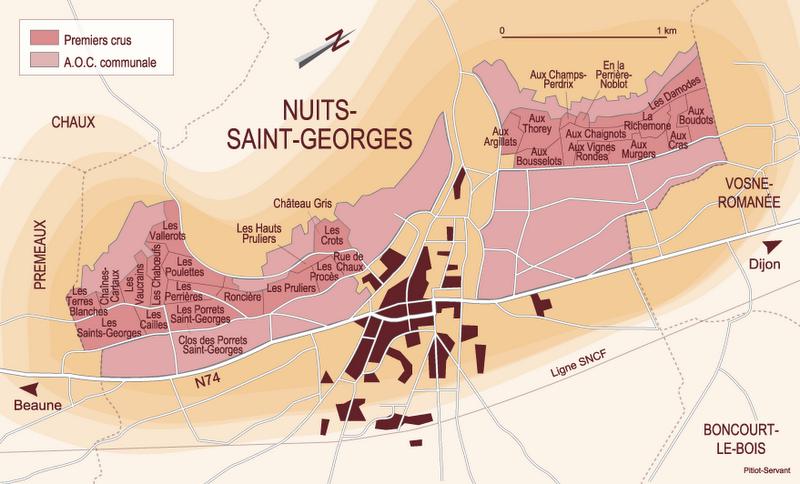 Voyage en bourgogne partie i huxley wine club - Piscine nuits saint georges ...